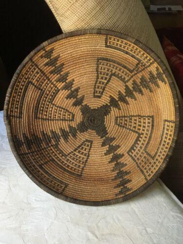 Antique Apache Native American Basket Rattlesnake Tornado Figural 1910