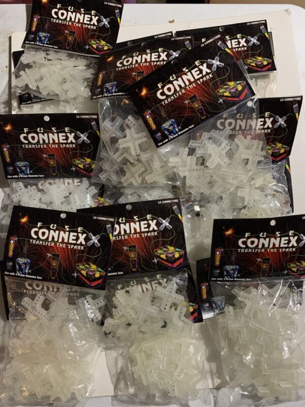 180 Fuse Connex Brand New And Sealed For Connecting Fuse To Cakes Fireworks