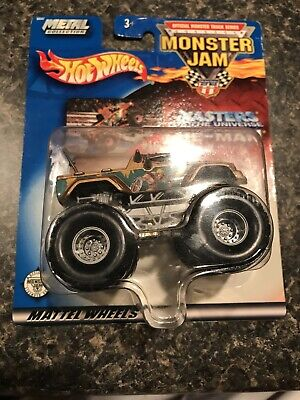 Hot Wheels 145-215720 Off-Road Monster Jam Vehicle Toy He-Man
