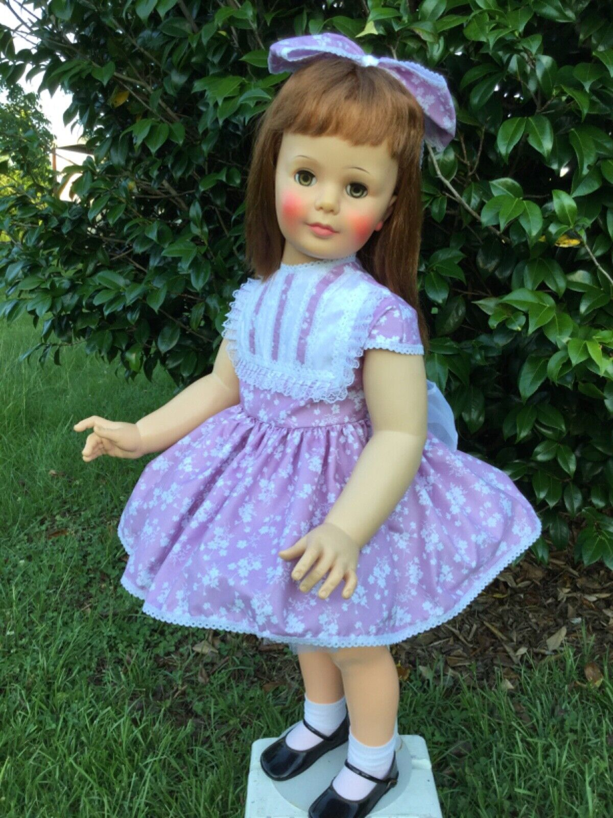 NEW Dress, Petticoat, Panty, Necklace Ribbon For Patti Playpal Or 35 - 36 Doll - $51.93