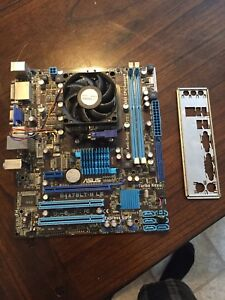 Am3 mobo with phenom ii x4 925