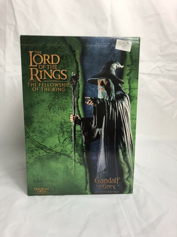 Sideshow WETA Lord of the Rings Gandalf the Grey 1/6 Scale Polystone Statue MINT