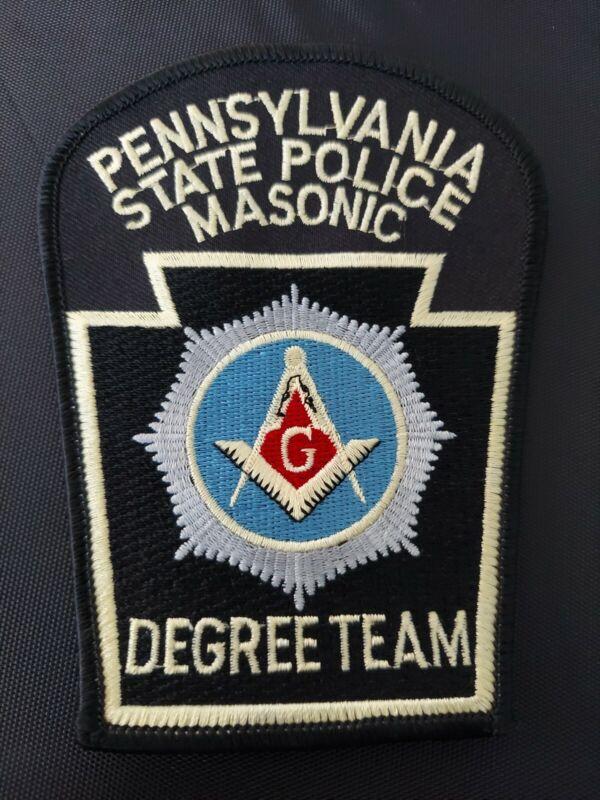 Pennsylvania State Patrol Police Patch Mason