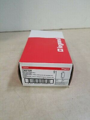 Box Of 10 Legrand Pass Seymour Tm870-w 15 Amp 120277vac White 1 Pole Switch