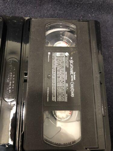 The Nightmare Before Christmas VHS Tim Burton - $8.50