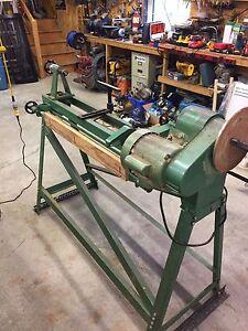 Wood turning copy lathe