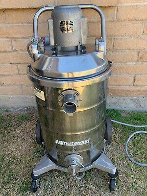 Minuteman Model C8801555 Wetdry Explosion Proof Vacuum