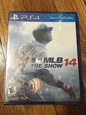 MLB 14: The Show (Sony PlayStation 4, 2014) Brand new