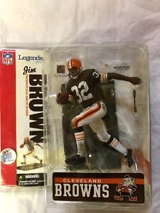 Mcfarlane Jim Brown NFL Legends Cleveland Browns Figure.