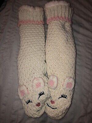 Jane And Bleecker Gripped Slipper Socks