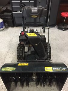 """REDUCED - 30"""" snowblower for sale two stage"""