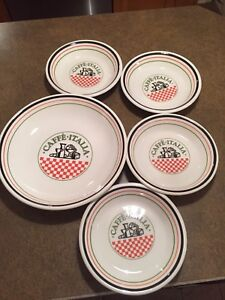 Set de bols pour pâtes