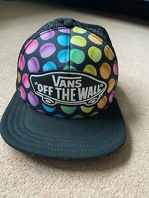 VANS flat cap, multicoloured macaroon print