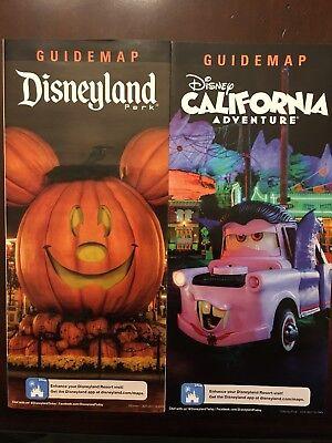 Disneyland And California Adventure Halloween Time Guide Maps (Halloween California Adventure)