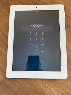 Apple iPad 4th Gen. 32GB, Wi-Fi + Cellular (EE), 9.7in - White