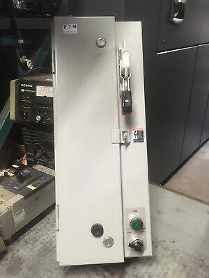 Cutler-hammer Ecn1611aaa Combination Starter In Sz 1 Enclosure