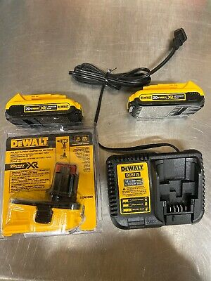 New Dewalt DCA2203C 20V 20 Volt Li-Ion Battery Adapter Kit For 18V Tools (NIB)