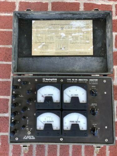 Vintage Westinghouse PG-191 industrial analyzer