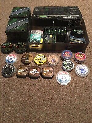 Korda Tackle Box + End Tackle Carp Fishing Fox ESP Nash Avid Job Lot