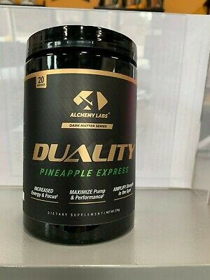 Alchemy Labs Duality Pinapple Express Pre-Workout