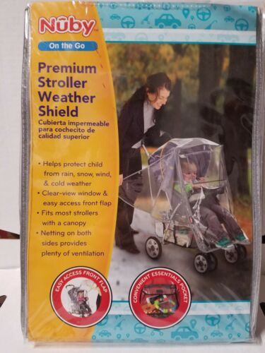 Nuby stroller premium weather shield
