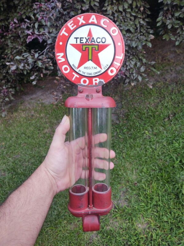 Porcelain Texaco  Double Chambered Lubster Paddle