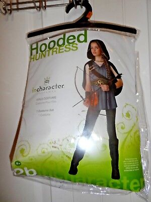Incharacter Hooded Huntress Tween Girls Halloween 2 Costumes 18047 Sz Small