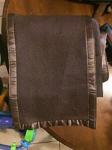 Breathable bumper pad-chocolate brown