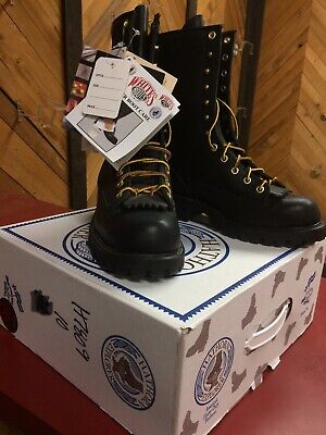 Hathorn Explorer H7809 Black Lace To Toe Smoke Jumper Boots Size 8 D