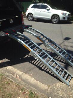 Loading ramps for ATV or dirt bike