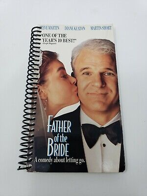 Father of the Bride: Movie Journal-recycled VHS covers-blank diaries