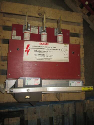 Qa-1233-b 1200a 480v Pringle Switch Red Base Used E-ok
