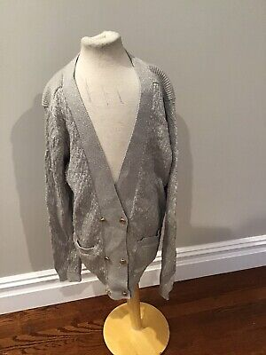 Simple Kids Shimmer Cardigan 14 Nwt