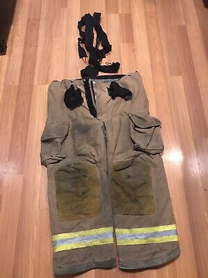 Lion Apparel Janesville Pvfm 46r Structural Fire Fighter Pants W Inner Liner
