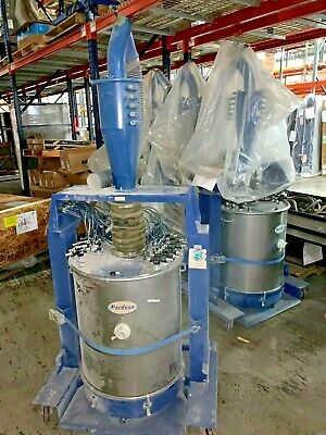 Hr-16-150 Powder Feed Hoppers - Nordson Versa Coating Booth Components Fluidized