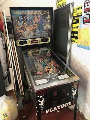 Playboy Pinball machine 1989 Data East Playboy 35th Anniversary