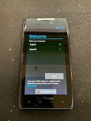 Motorola Droid Razr - 16GB - Black (Verizon) Smartphone - USED