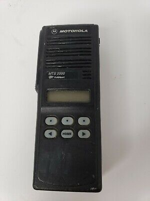 Motorola Mts2000 Model Ii 2 - Flashport 2 Way Radio H01ucf6pw1bn - No Charger