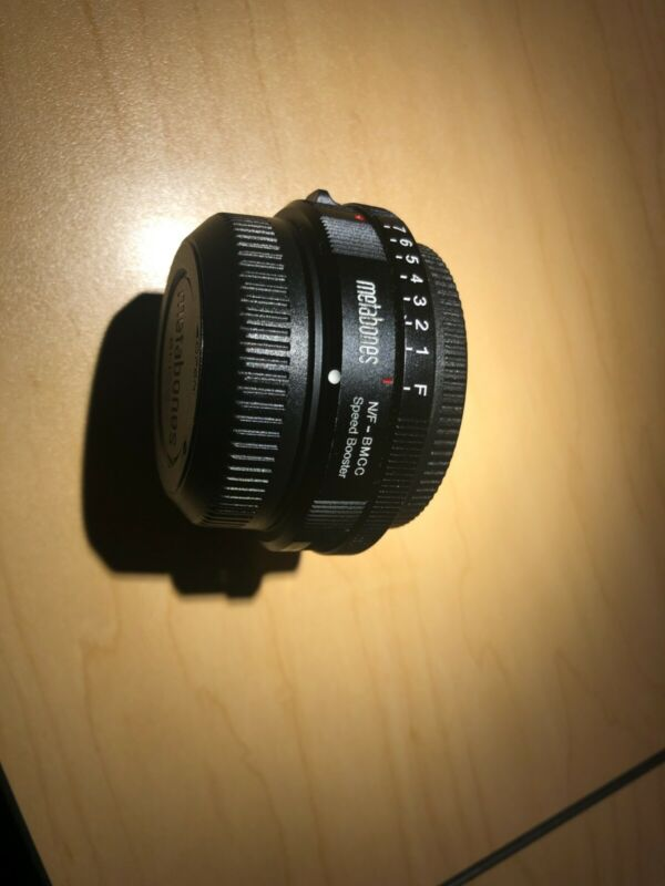 Metabones Adapter Speed Booster N/F-BMCC