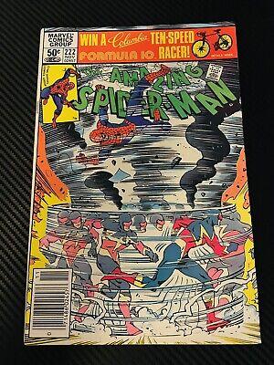 The Amazing Spider-Man #222 (1st app of Speed Demon)