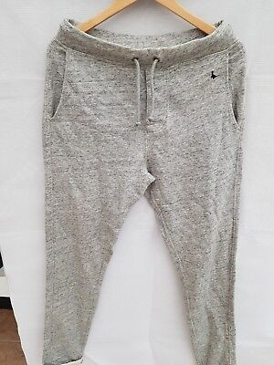 New JACK WILLS Men's Corsham Tailored Joggers Pants Grey - Size S for sale  Shipping to Ireland