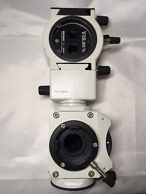 Leica Wild Surgical Microscope Parts 445319 W 319449 Vis. 50 Beam Splitter