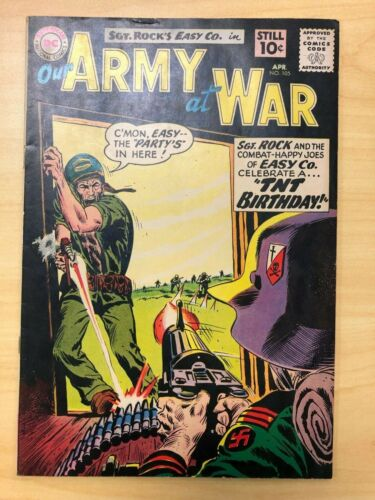 Our Army at War #105 Golden Age