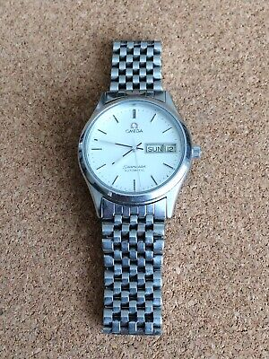 MENS OMEGA SEAMASTER AUTOMATIC WATCH WITH BEADS OF RICE BRACELET