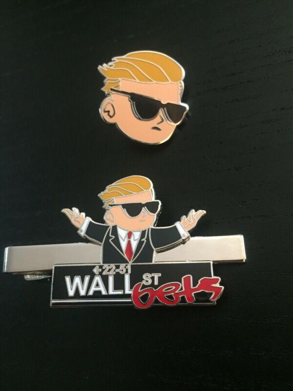 Wallstreetbets - Tie Clip & Pin