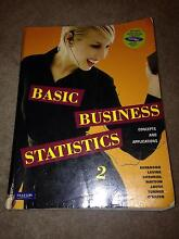 Basic business statistics Concepts and applications Second Editio Richmond Yarra Area Preview
