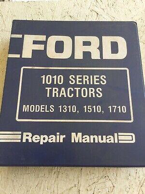 Ford 1310 1510 1710 Tractors Service Manual