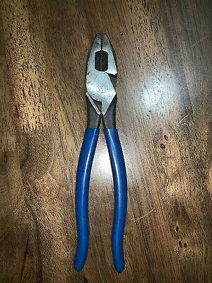 Gardner Bender Gb Gps-214 Linemens Pliers 9-14 High Leverage With Wire Cutter