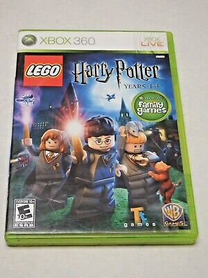 LEGO Harry Potter: Years 1-4 (Microsoft Xbox 360, 2010) Complete with manual