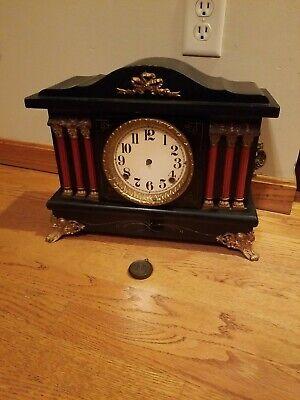 Antique Seth Thomas or Sessions Mantle Clock Pillars - PARTS or REPAIR